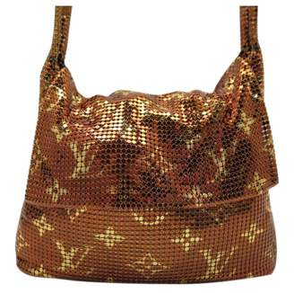 Louis Vuitton Brown Polyester Handbag