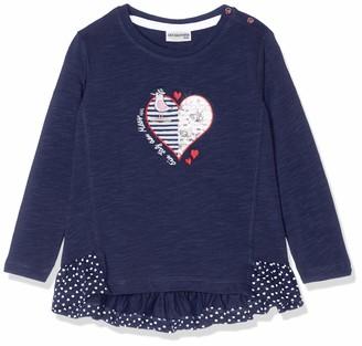Salt&Pepper Salt and Pepper Baby Girls' B Longsleeve Meer uni Herz T-Shirt