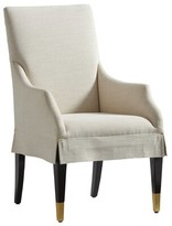 Lexington Carlyle Upholstered Arm Chair Upholstery: Ivory