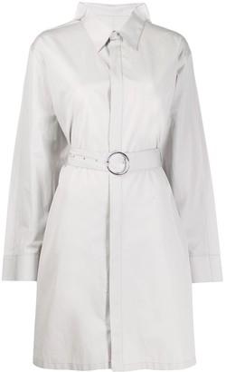 Maison Margiela Belted Shirt-Style Coat