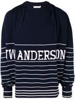 JW Anderson logo patch sweater