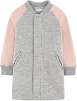 Stella McCartney Long bi-material teddy jacket