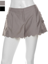 Alex Lane Petal Scallop Shorts