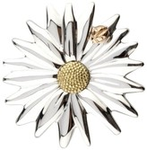 Tiffany & Co. Sterling Silver, 18K Yellow and Rose Gold Daisy Ladybug Brooch