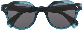 Oliver Peoples Irven round frame sunglasses