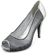Style&Co. Style & Co. Style & Co Women's Naveah Peep Toe Canvas Heels