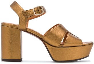 Chie Mihara Chunky Heel Sandals