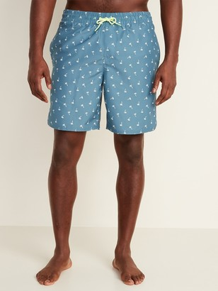 Old Navy Printed Swim Trunks for Men -- 8-inch inseam