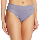 Warner's Women's No Pinching. No Problems. Tailored Microfiber Hi-Cut Brief Panty