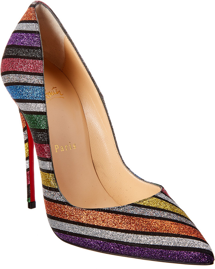 new product 258a4 b21e3 So Kate 120 Glitter Leather Pump