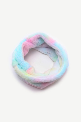 Ardene Faux Fur Rainbow Snood