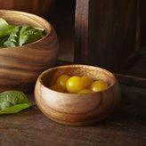 Sur La Table Acacia Wood Appetizer Bowl