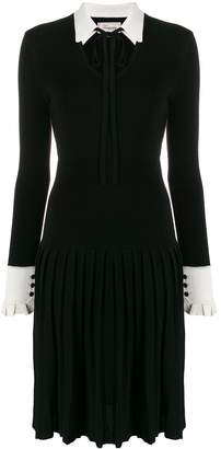 Temperley London Elsie pleated midi dress