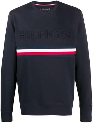 Tommy Hilfiger Embossed Logo Sweatshirt