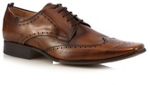 Jeff Banks Brown Leather Brogues