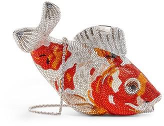 Judith Leiber Embellished Koi Carp Clutch Bag