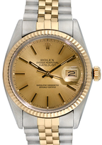 Rolex Vintage Two-tone Datejust Stainless Steel Watch, 36mm