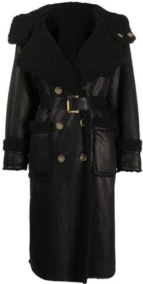 Urban Code Shearling Lined Coat