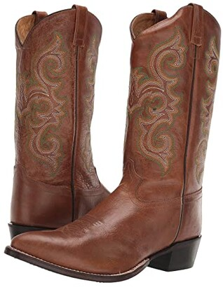 Old West Boots Colton (Burnish Tan) Cowboy Boots