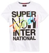 Superdry Men's Interlocked International Graphic-Print Cotton T-Shirt