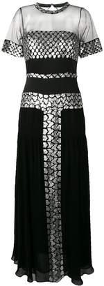 Temperley London Luminary sequined dress