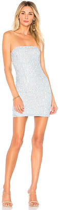 superdown Charlize Lace Strapless Dress