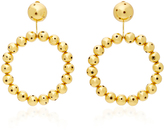 Paula Mendoza Thier 24K Gold-Plated Earrings