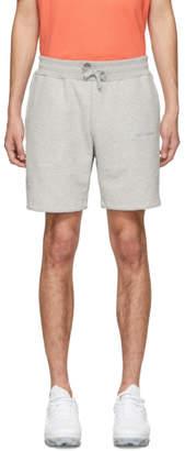 Leon Aime Dore Grey French Terry Logo Shorts