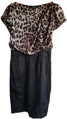 Julien Macdonald Julien Mac Donald Black Silk Dress for Women