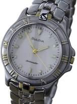Bulova Sporty Ambassador Stainless Steel / Gold Plated 35mm Mens Watch