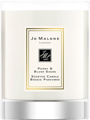 Jo Malone Peony & Blush Suede Travel Candle, 60 g