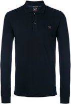 Paul & Shark longsleeved polo shirt - men - Cotton - M