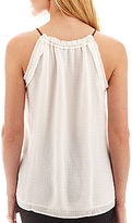 Mng by Mango Keyhole Tank Top