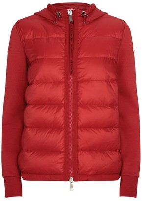 Moncler Quilted Hoodie Jacket