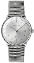 Junghans 041/4463.44 Max Bill Stainless Steel Bracelet Strap Watch, Silver