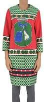 Stella Jean Women's Multicolor Cotton Coat.