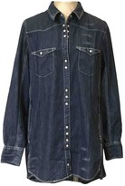 Free People Blue Denim - Jeans Tops