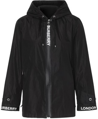 Burberry Horseferry Logo Tape Hooded Jacket