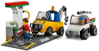 Lego City 60232 Garage Center with 3 Cars and 4 Minifigures
