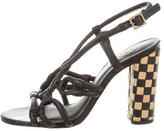 Tory Burch Leather Slingback Sandals