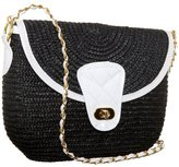 Magid Milan Straw Shoulder Bag