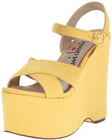 Luichiny Women's In Her Shoes Wedge Sandal