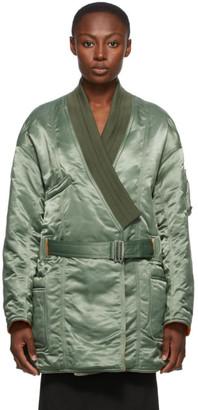 Ambush Green Kimono MA-1 Hybrid Coat