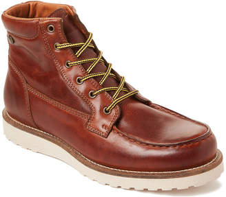 Pajar Cognac Logger Leather Waterproof Boots