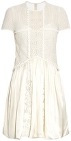 Burberry Short-sleeved lace dress