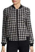 Helene Berman Textured Houndstooth Jacket