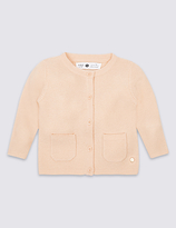 Marie Chantal Marie-chantal Girls Cardigan with Cashmere (3 Months - 5 Years)