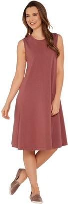 Denim & Co. Essentials Sleeveless Knit Dress with Seam Detail