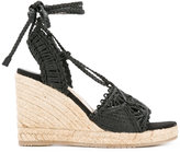 Paloma Barceló wedge sandals - women - Leather/rubber - 37