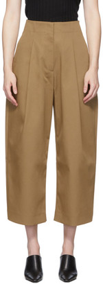 Studio Nicholson Tan Doriko Trousers